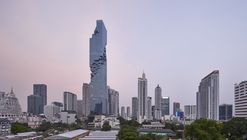 Büro Ole Scheeren's MahaNakhon Tower, Photographed by Hufton + Crow