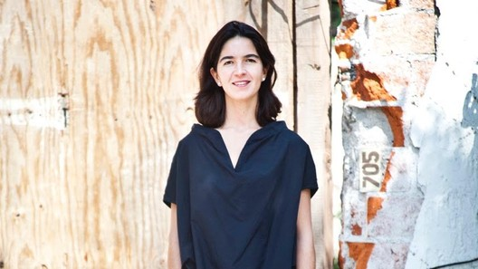 Fernanda Canales: 'Nuestra participación como arquitectos no está siendo útil para la sociedad.'