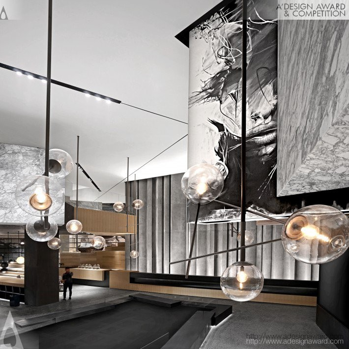 White Shoal by Ming Leung- Golden A' Interior Space, Retail and Exhibition Design Award in 2017. Image Courtesy of A' Design Award & Competition