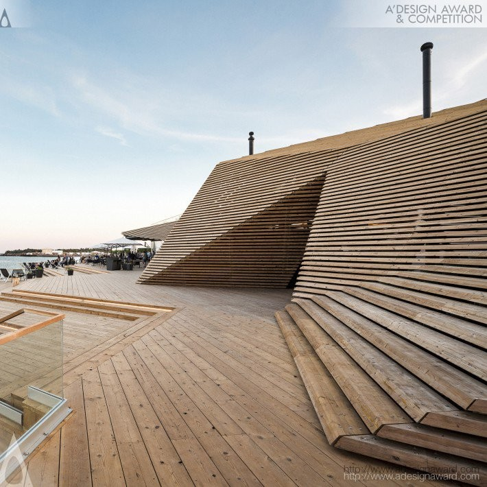 Loyly by Ville Hara- Platinum A' Architecture, Building and Structure Design Award in 2017. Image Courtesy of A' Design Award & Competition