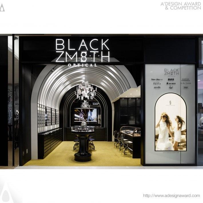 Blackzmith by Chikara Sasaki- Golden A' Interior Space, Retail and Exhibition Design Award in 2017. Image Courtesy of A' Design Award & Competition