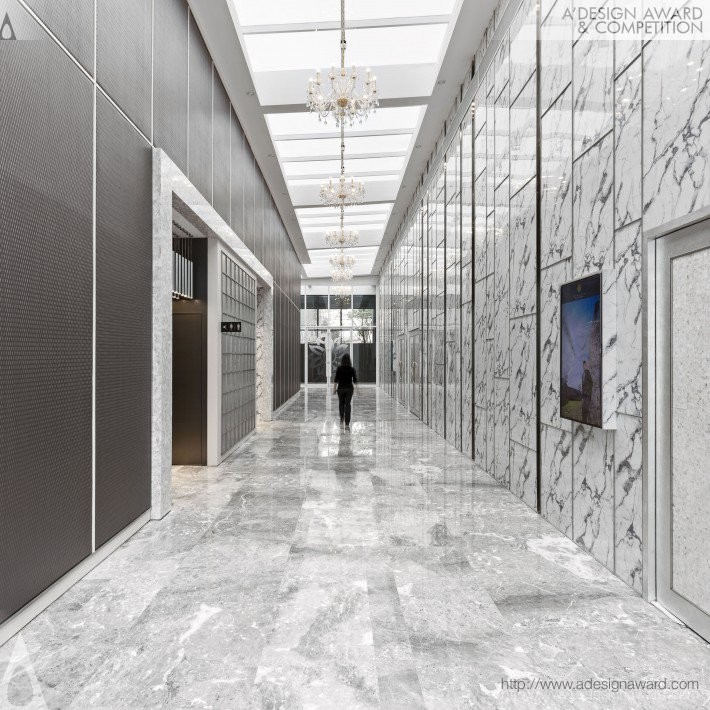 Pure Hall by CHIANG CHUN-HAO- Golden A' Interior Space, Retail and Exhibition Design Award in 2017. Image Courtesy of A' Design Award & Competition
