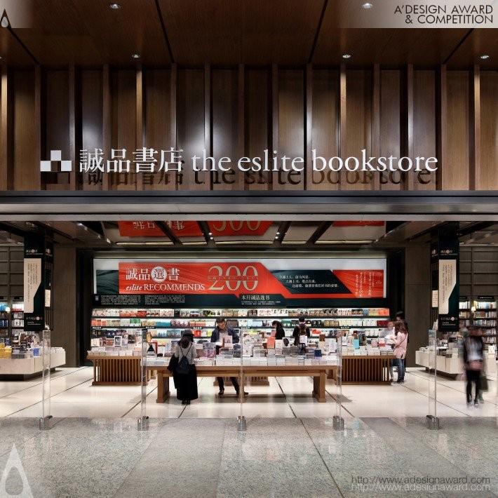 Eslite Suzhou by Mandartech Interiors Inc.- Golden A' Interior Space, Retail and Exhibition Design Award in 2017. Image Courtesy of A' Design Award & Competition