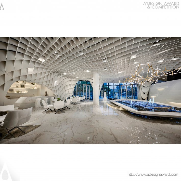 Skynet by Kris Lin- Platinum A' Interior Space, Retail and Exhibition Design Award in 2017. Image Courtesy of A' Design Award & Competition