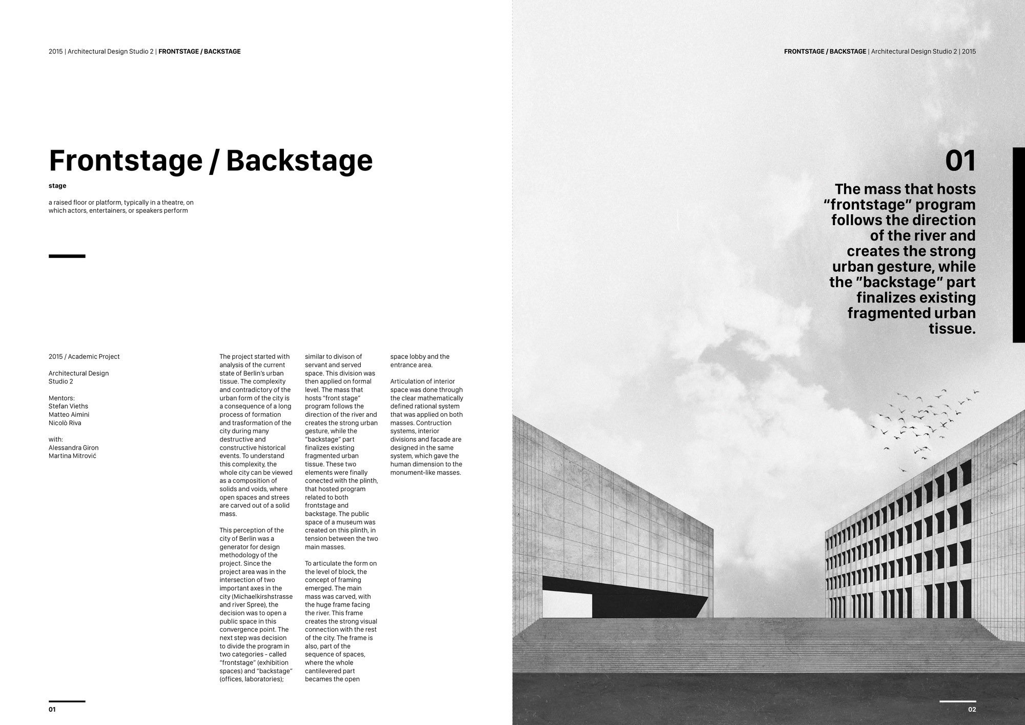 Gallery of the best architecture portfolio designs 37 for Architectural portfolio ideas