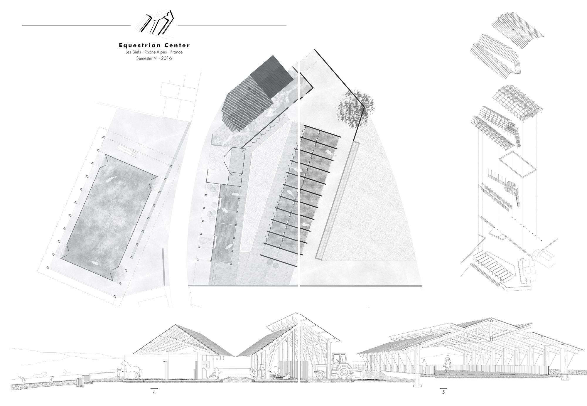 Gallery of the best architecture portfolio designs 48 - Architecture shows ...