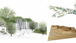 EMBT Wins Competition for Undulating Biodiversity Center on German-Czech Border