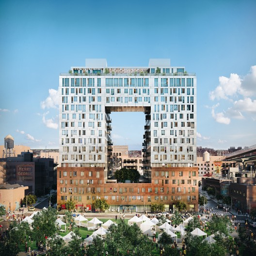 SHoP?s First Domino Sugar Residential Building Gets New Renderings as Construction Marches Forward
