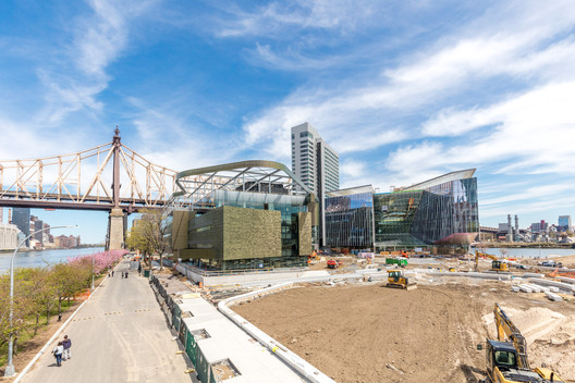 Phase 1 of the Cornell Tech campus will open in September. Image © Max Touhey