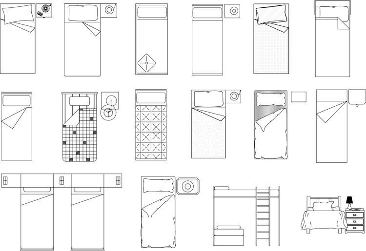 Bedroom Design Autocad