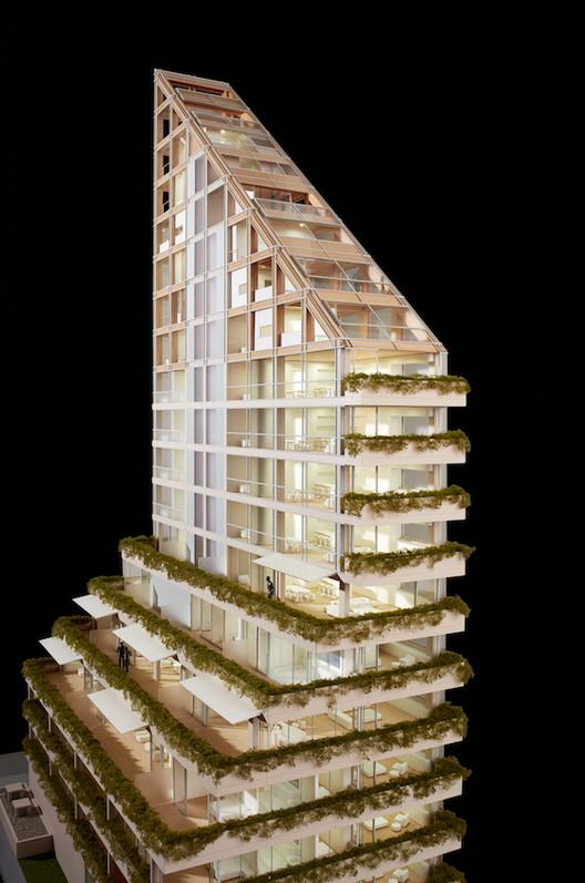 Terrace House model. Image Courtesy of PortLiving