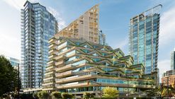 Shigeru Ban Architects Reveals Designs for World's Tallest Hybrid Timber Building in Vancouver