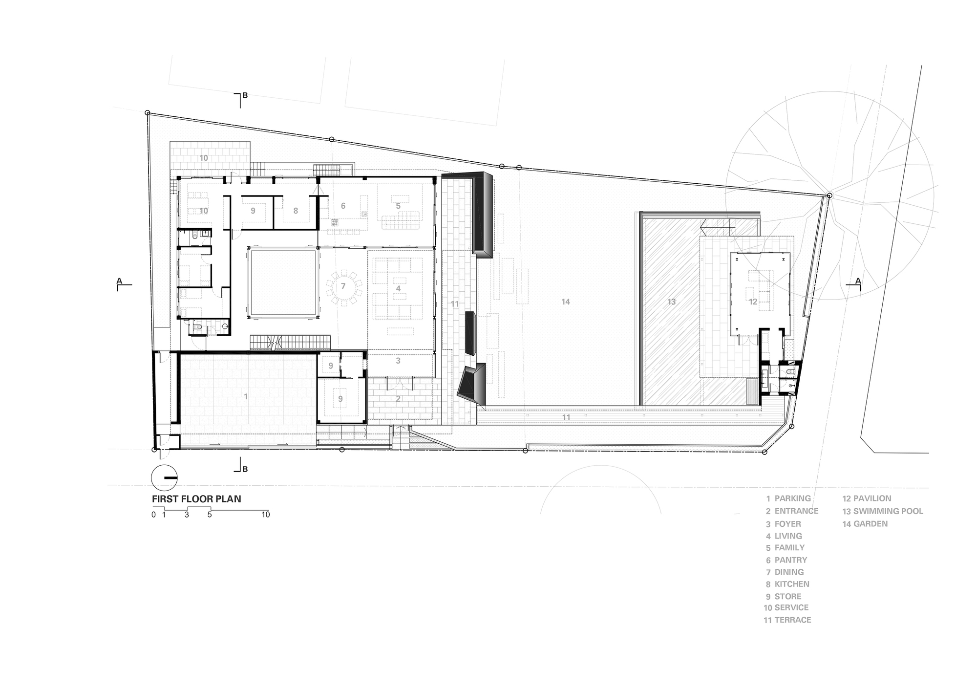 Marble Floor Layouts : Gallery of marble house openbox architects