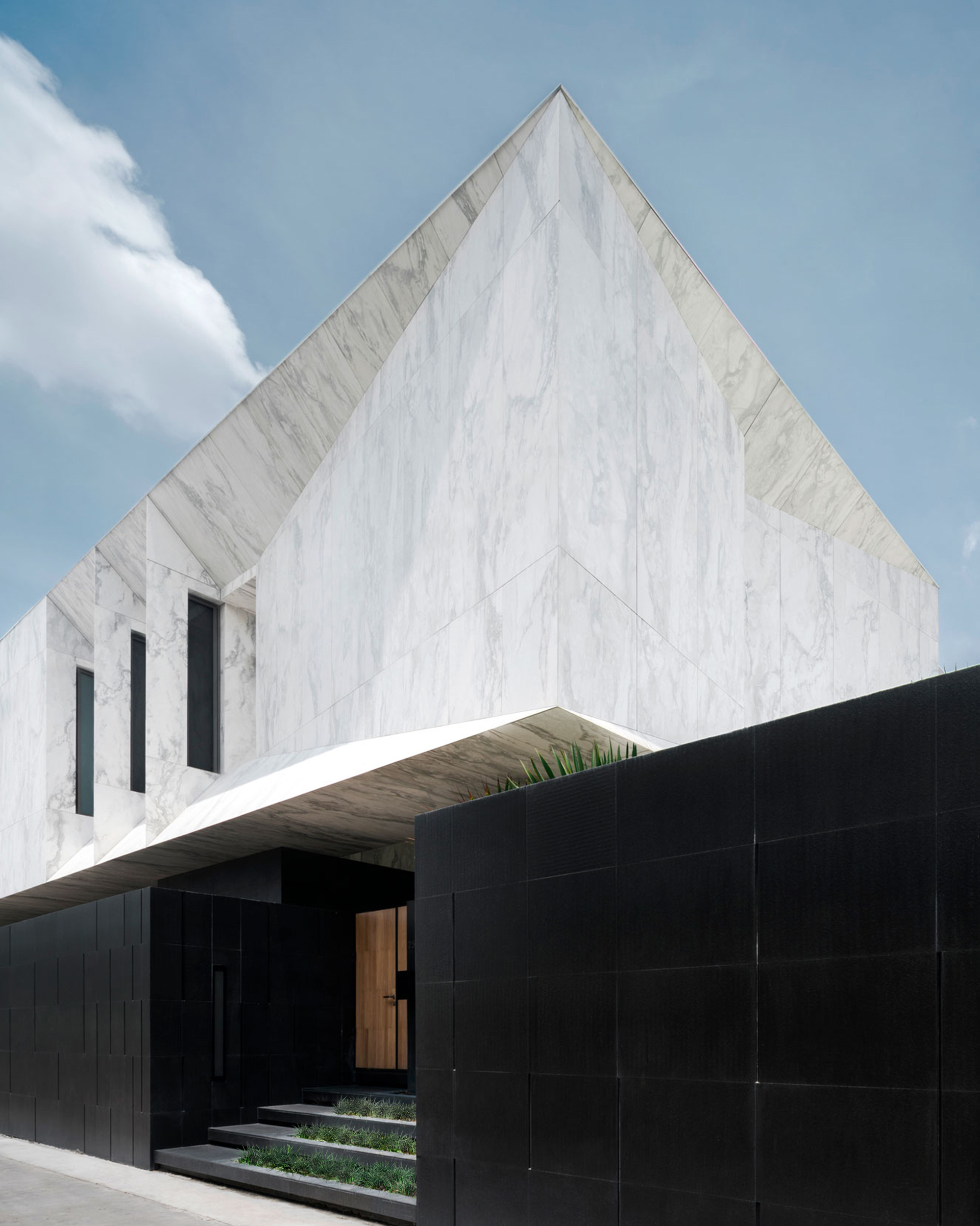 marble house / openbox architects | archdaily
