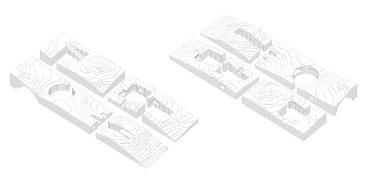 Interiors Axonometrics
