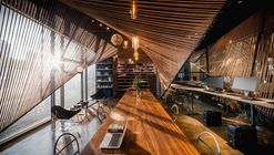 Cuerda ondulatoria / ten-arch + Usual Studio