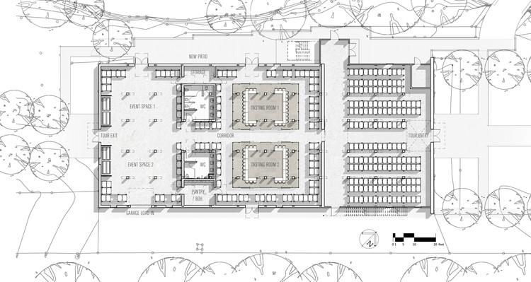Jack daniel s barrel house 1 14 clickspring design for Barrel cabin plans