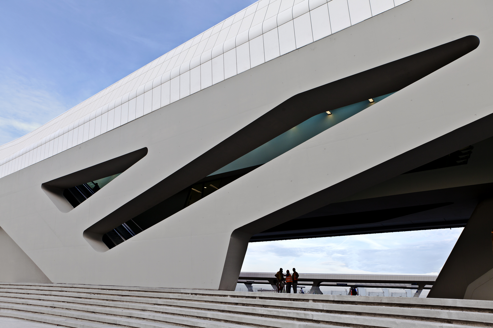 Napoli afragola station phase 1 zaha hadid architects for Architecture 00