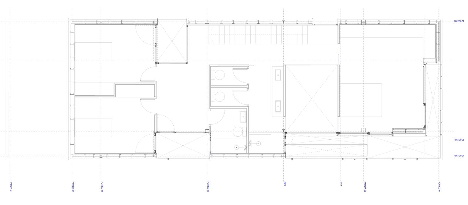 gallery of single family house castelldefels ral 20 single family house castelldefels first floor plan