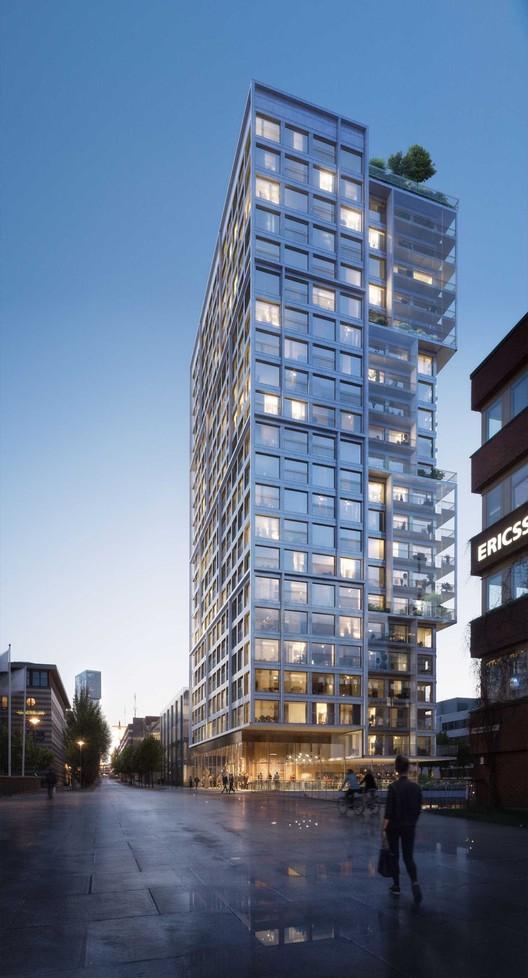 C.F. Møller Wins Competition for Innovative High-Rise in Stockholm, © C.F. Møller Architects