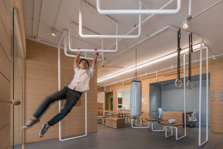 Inteltion office onion archdaily for Office interior work