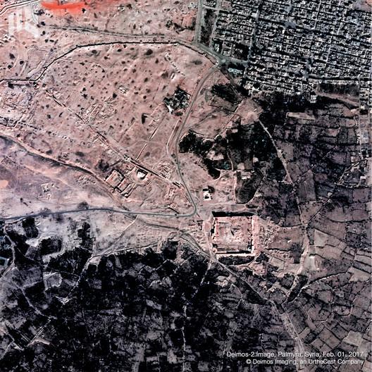 Palmyra, Syria. Image © Deimos Imaging