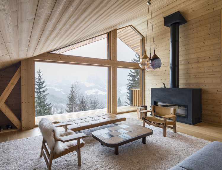 Mountain House / Studio Razavi architecture, © Olivier Martin Gambier