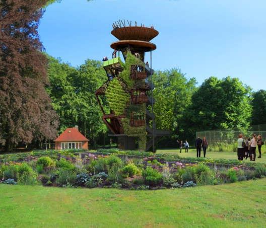 The site will include several new follies. Image © Tinker Imagineers