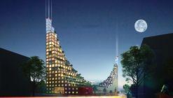 Edifício residencial em Birmingham inspira-se nos jardins suspensos da Babilônia