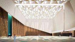 Schiattarella Associati's Mosque in Saudi Arabia Creates an Illuminated Local Landmark