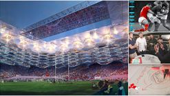 Legendary Rugby Players Help HOK Design the Stadium of Tomorrow