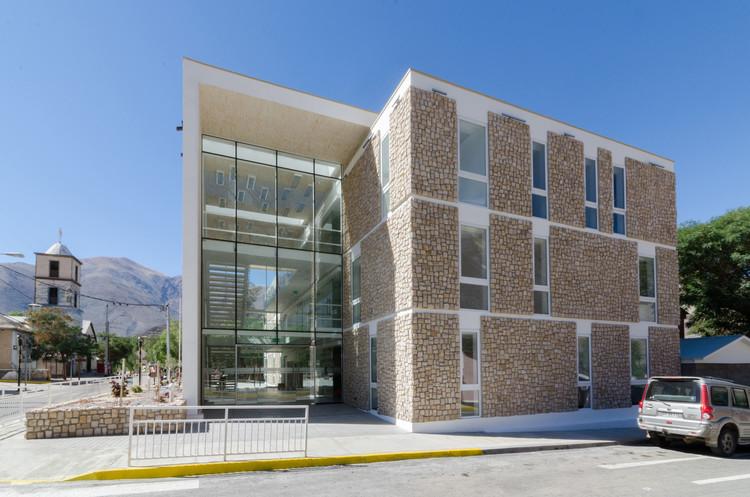Edificio consistorial de alto del carmen espiral for Parasoles arquitectura