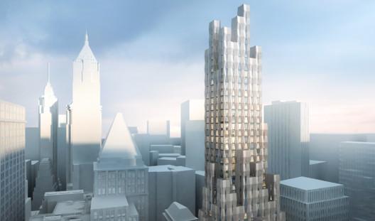 One Wall Street. Image Courtesy of Hollwich Kushner