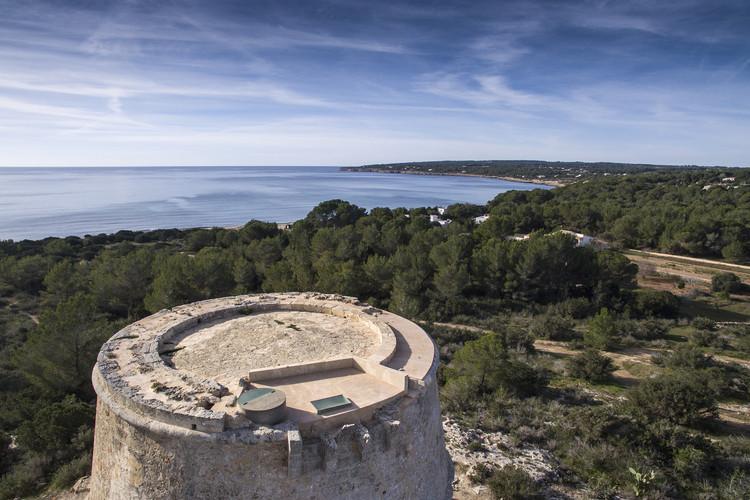 Restauración de la Torre d'Es Pi Català / Marià Castellò. Image Cortesía de Premio AADIPA
