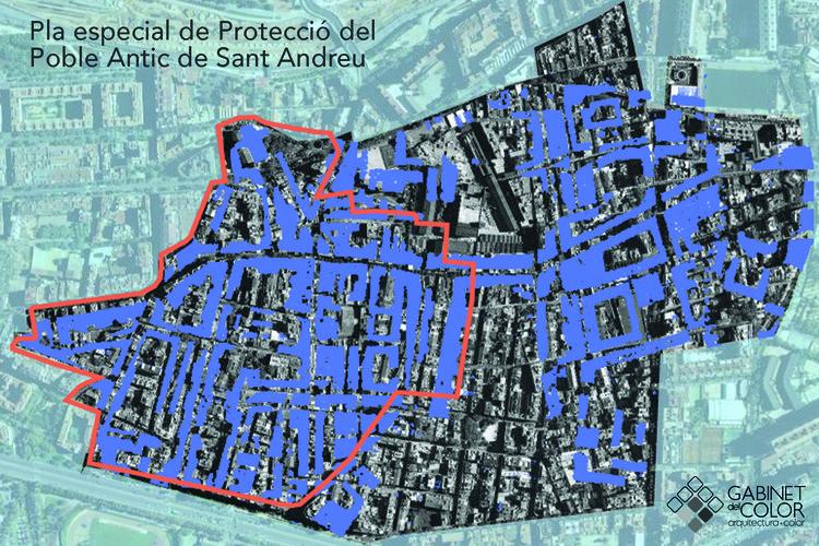 Plan especial para proteger el patrimonio del pueblo antiguo de Sant Andreu del Palomar / Joan Casadevall Serra. Image Cortesía de Premio AADIPA