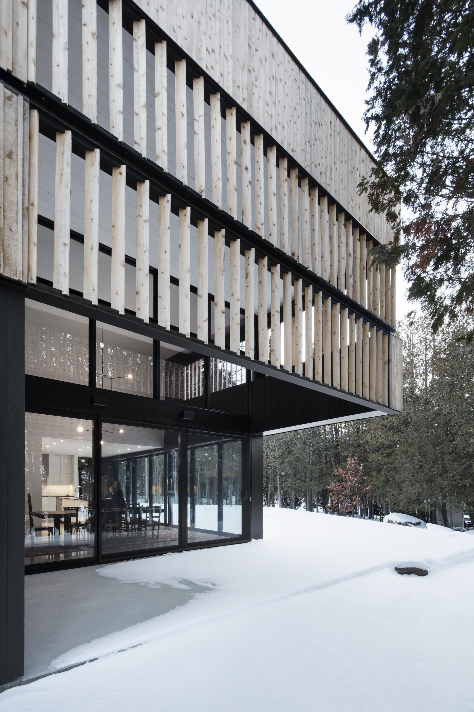 Gallery of maison sur le lac acdf architecture 5 - Canada maison close ...