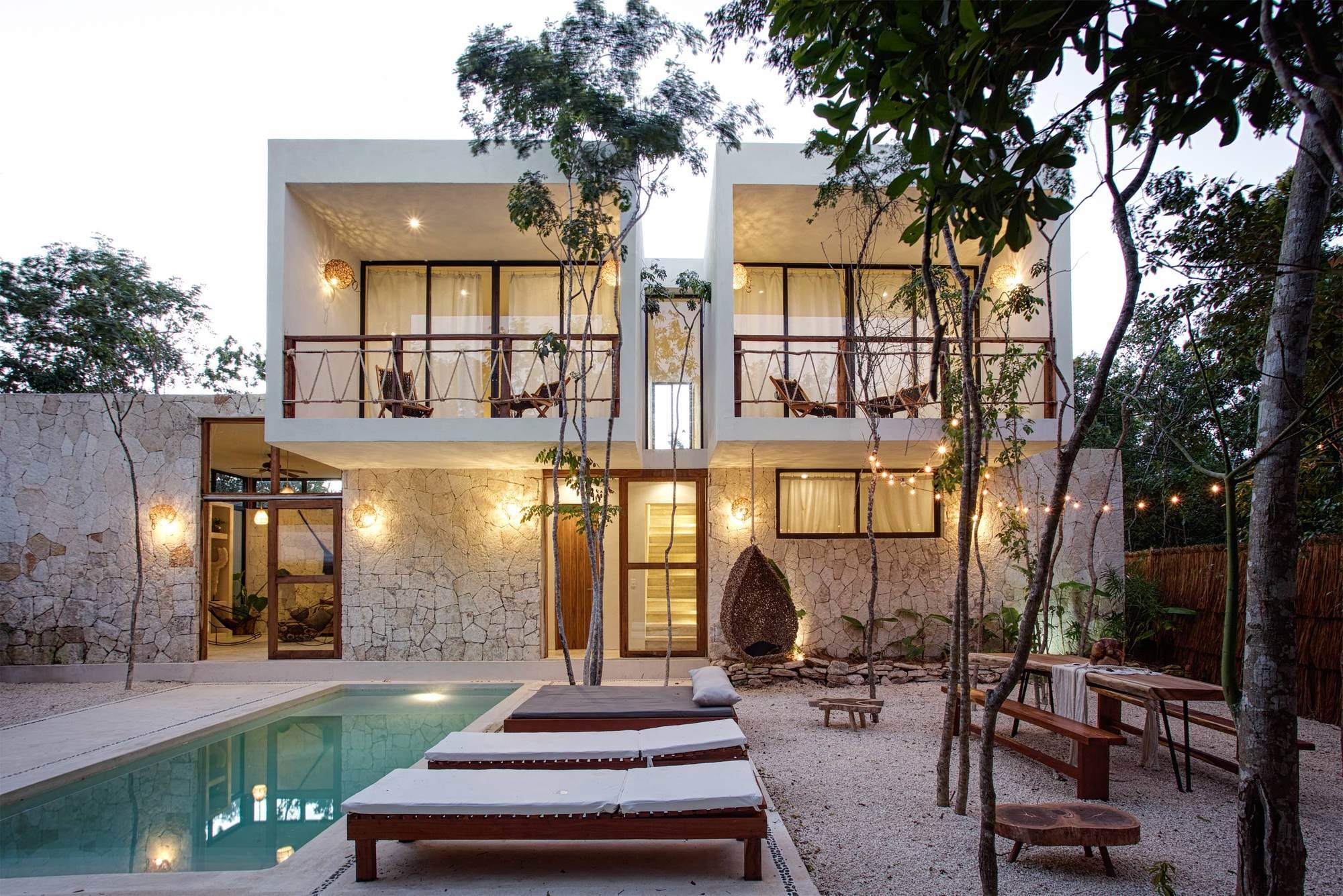 Gallery of una vida boutique villas studio arquitectos 3 for Villas tulum