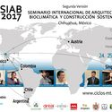 SIAB2017: Seminario internacional de arquitectura bioclimática y construcción sostenible