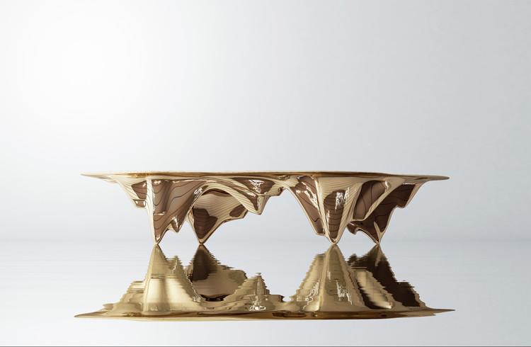 The Best Architect-Designed Pieces from Design Miami/ Basel 2017, Table, MAD Martian Collection by MAD Architects. Image Courtesy of MAD Architects