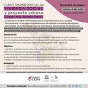 Curso de Vivienda Social y Proyecto Urbano Afiche Curso Vivienda Social y Proyecto Urbano. Fundación CEPA. 2017