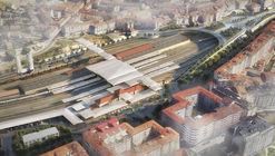 Foster + Partners revela las primeras imágenes de la futura Estación Intermodal en Ourense, España