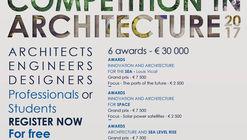 """International Competition in Architecture 2017"" busca propostas para o mar e o espaço"
