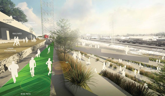 From the Los Angeles River Downtown Design Dialogue (City of Los Angeles, Bureau of Engineering). Used by Permission from Chee Salette