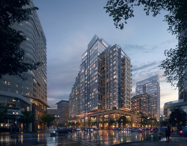 KPF Advances Growth of Boston Seaport with Towered Mixed-Use Building, Courtesy of KPF