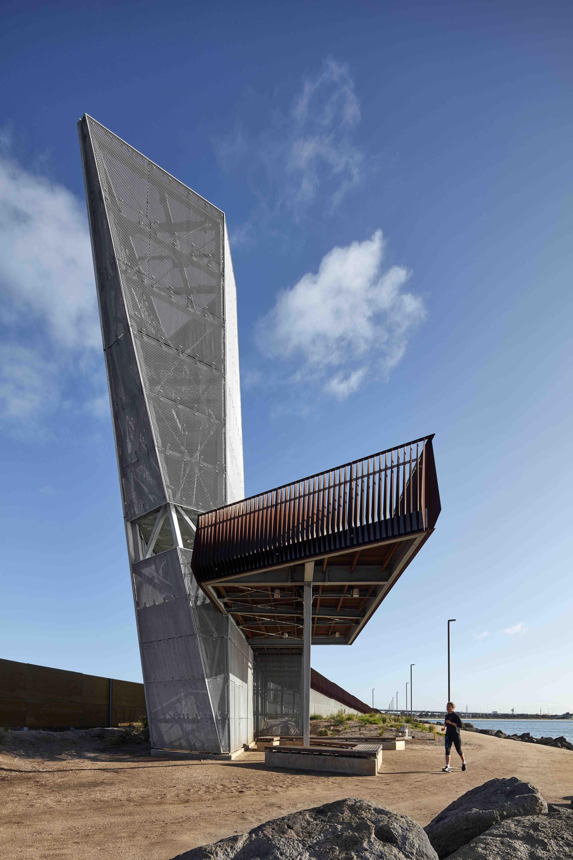 Sandridge Lookout Cox Architecture Archdaily