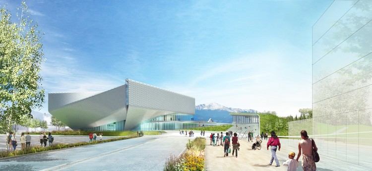 New Images Revealed of Diller Scofidio + Renfro's U.S. Olympic Museum as Project Breaks Ground , Courtesy of Diller Scofidio + Renfro