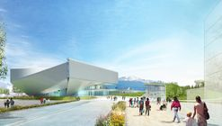 New Images Revealed of Diller Scofidio + Renfro's U.S. Olympic Museum as Project Breaks Ground