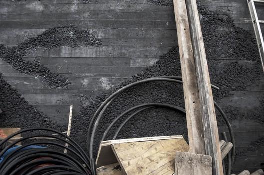 Non-Vibrated concrete. Image © Alessandro Crinari