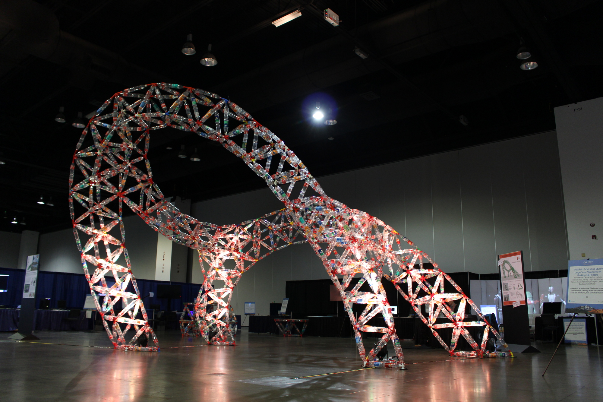 this sketchup plugin designs structures made from plastic bottles and 3d printed joints archdaily. Black Bedroom Furniture Sets. Home Design Ideas