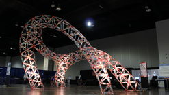 This Sketchup Plugin Designs Structures Made From Plastic Bottles and 3D-Printed Joints
